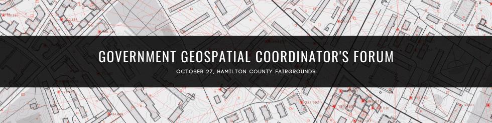 Government Geospatial Coordinator's Forum
